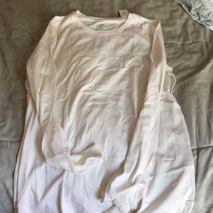 NWT ivory long sleeve Loft T-shirt